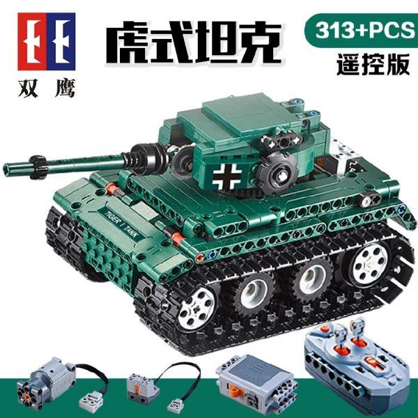 DoubleE / CADA C51018 Tiger Heavy Tank Tiger 1 Tank 1