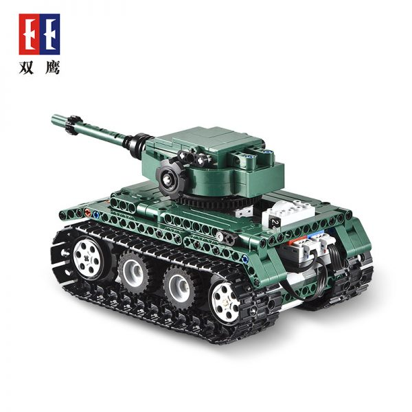 DoubleE / CADA C51018 Tiger Heavy Tank Tiger 1 Tank 2