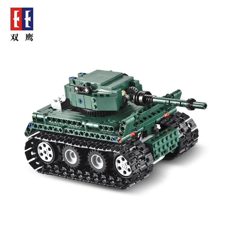 DoubleE / CADA C51018 Tiger Heavy Tank Tiger 1 Tank 3