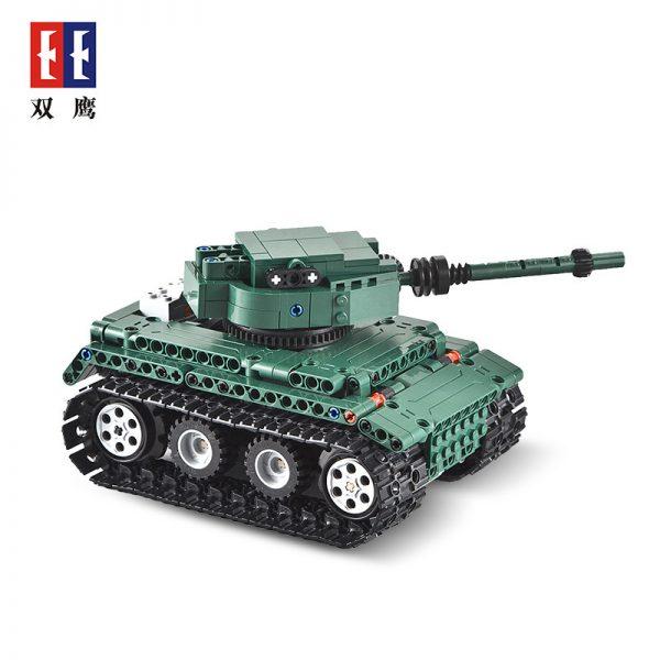 DoubleE / CADA C51018 Tiger Heavy Tank Tiger 1 Tank 4