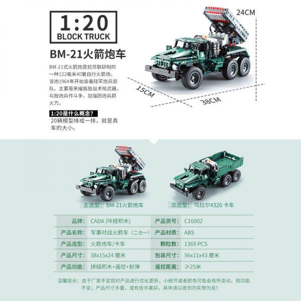 DoubleE / CADA C61002 BM-21 Missile Vehicle 3