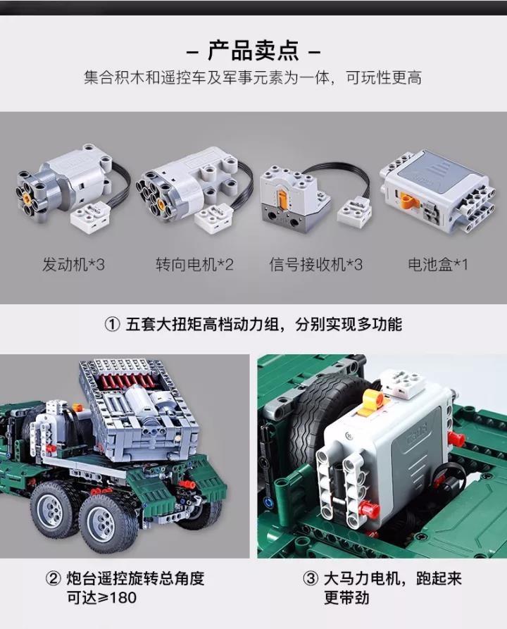 DoubleE / CADA C61002 BM-21 Missile Vehicle 8