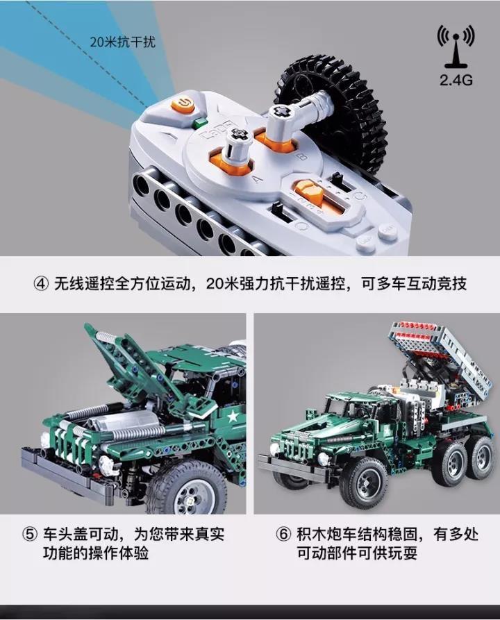DoubleE / CADA C61002 BM-21 Missile Vehicle 9