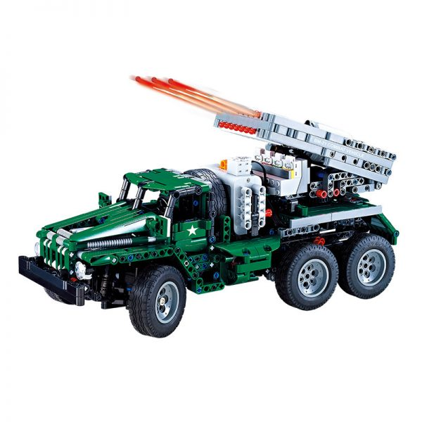 DoubleE / CADA C61002 BM-21 Missile Vehicle 11