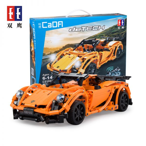 DoubleE / CADA C51051 Porsche Sports Car 918 4