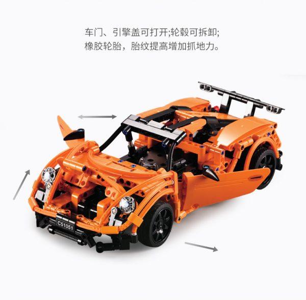 DoubleE / CADA C51051 Porsche Sports Car 918 8