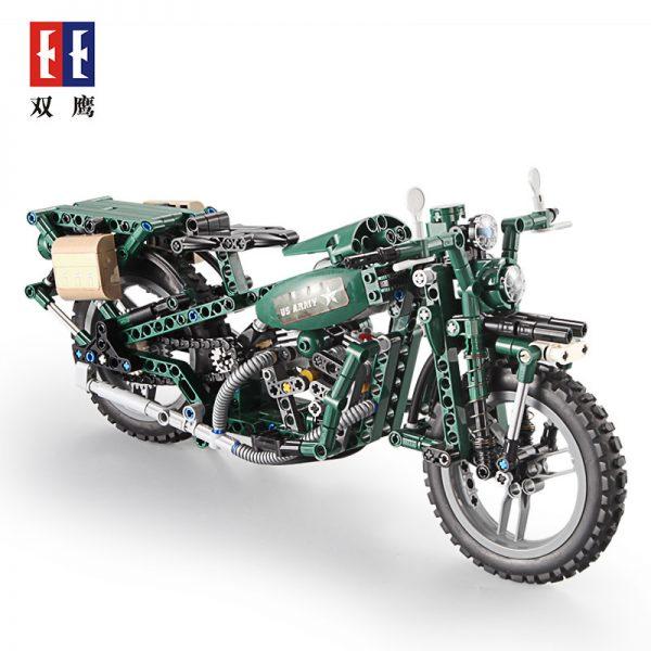 DoubleE / CADA C51022 World War II Military Harley Moto 1