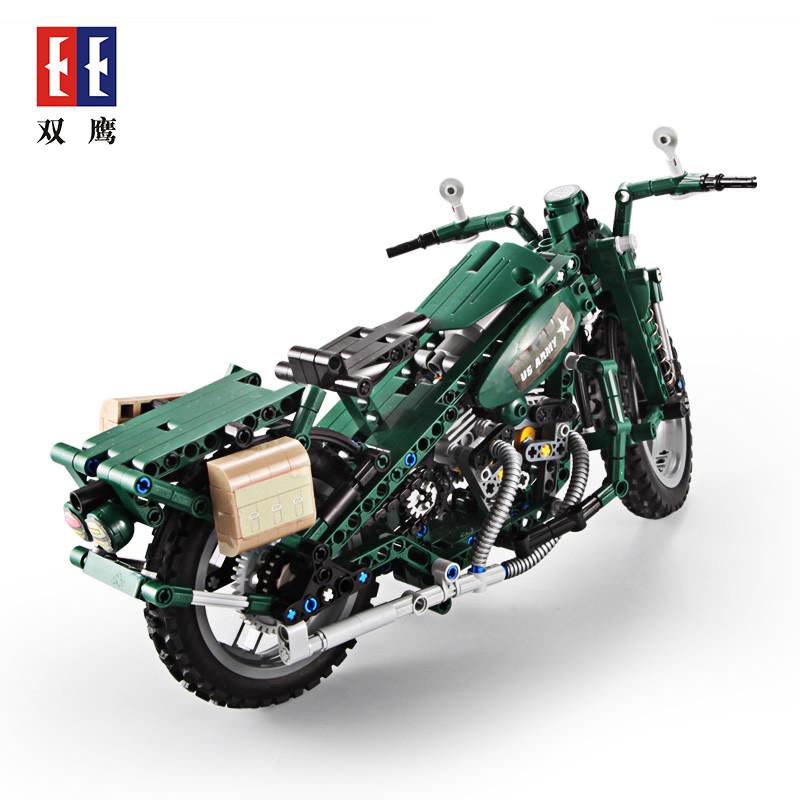 DoubleE / CADA C51022 World War II Military Harley Moto 2