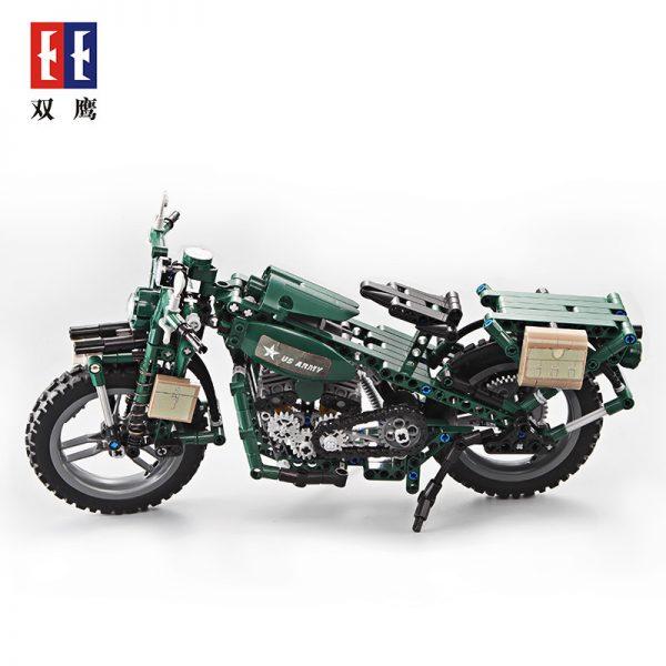 DoubleE / CADA C51022 World War II Military Harley Moto 3