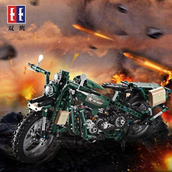 DoubleE / CADA C51022 World War II Military Harley Moto 4