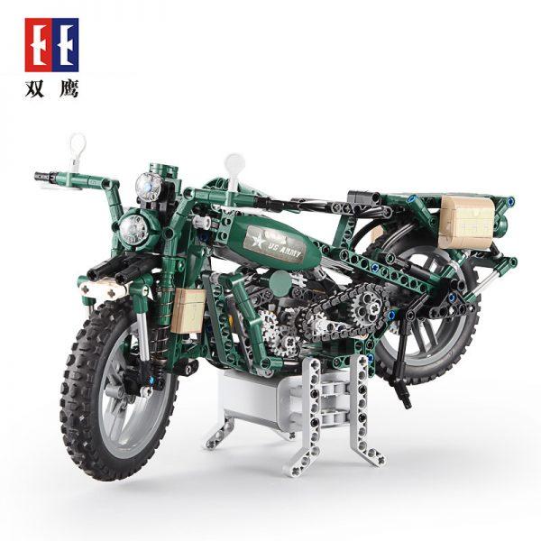 DoubleE / CADA C51022 World War II Military Harley Moto 5