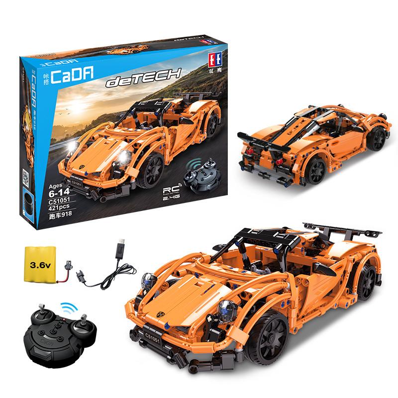 DoubleE / CADA C51051 Porsche Sports Car 918 10