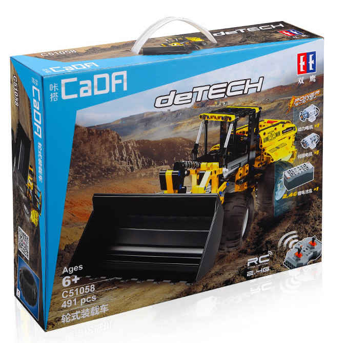 DoubleE / CADA C51058 Wheel Loader 10