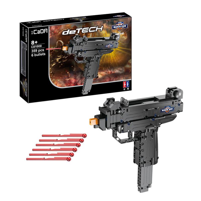 DoubleE / CADA C81008 deTECH: Uzi Mini Submachine Gun 2