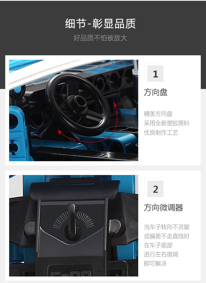 DoubleE / CADA C51053 Blue Phantom 8