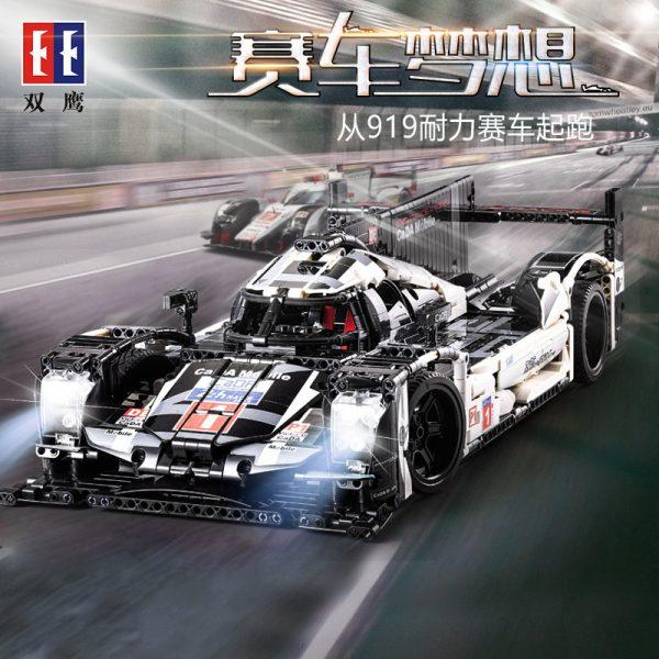 DoubleE / CADA C61016 Porsche 919 Hybrid Racing Cars 4