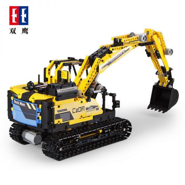 DoubleE / CADA C51026 Stone robots, excavators 1