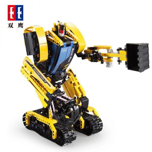 DoubleE / CADA C51026 Stone robots, excavators 2