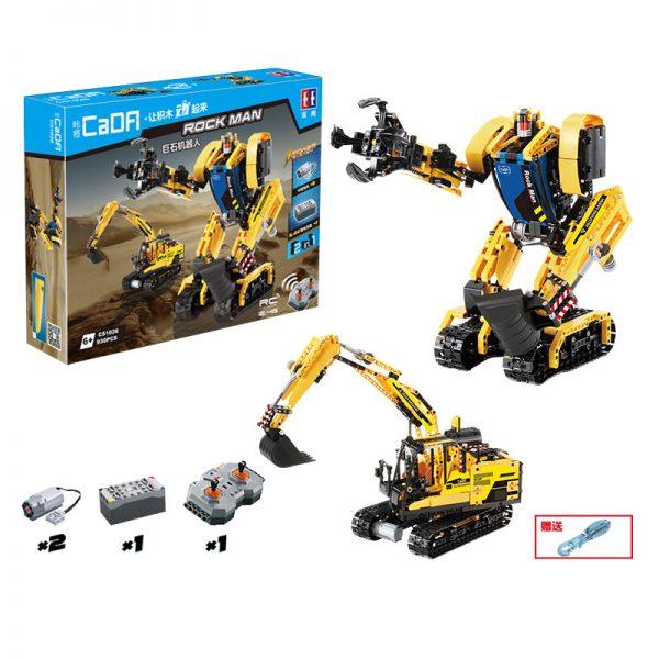 DoubleE / CADA C51026 Stone robots, excavators 7