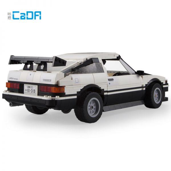 DoubleE / CADA C61019 Head text D Fujiwara tofu shop Toyota AE86 drift Racing Cars 3