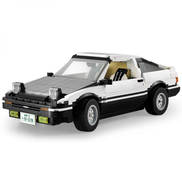 DoubleE / CADA C61019 Head text D Fujiwara tofu shop Toyota AE86 drift Racing Cars 4