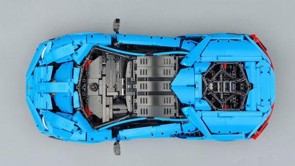 DoubleE / CADA 770-4 Lamborghini Centenario 1:8 hypercar 13