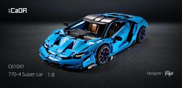 DoubleE / CADA 770-4 Lamborghini Centenario 1:8 hypercar 17