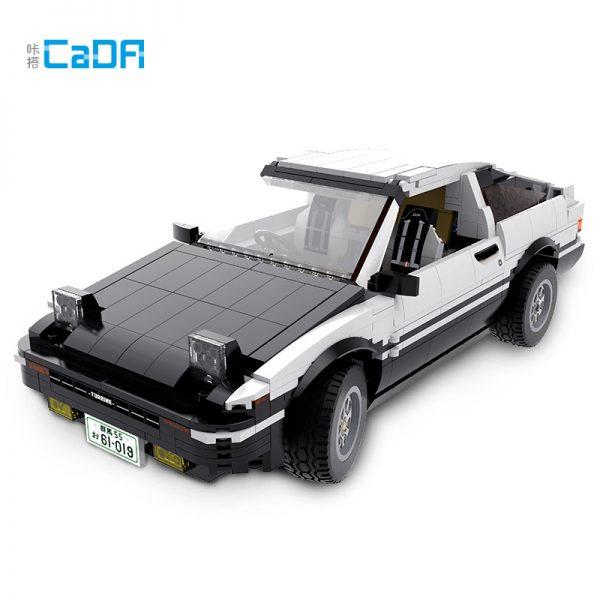DoubleE / CADA C61019 Head text D Fujiwara tofu shop Toyota AE86 drift Racing Cars 0