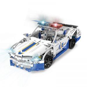 DoubleE / CADA C51006 GT police car remote control building blocks 0