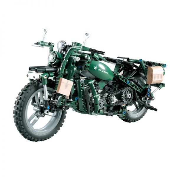 DoubleE / CADA C51022 World War II Military Harley Moto 0