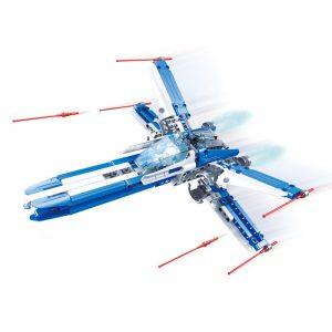 DoubleE / CADA C54005 Star Team: X-Wing Fighter Building Blocks 0